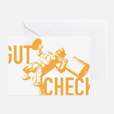 GUT CHECK Greeting Card