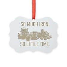 heavy iron Ornament