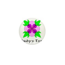 CINDYS TOTE FLEUR DE LOOPS Mini Button