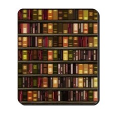 dreamdiary_bookshelf Mousepad