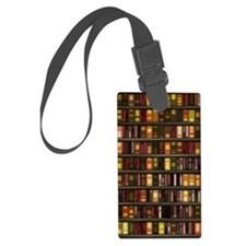 dreamdiary_bookshelf Luggage Tag