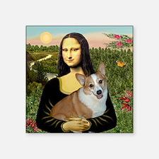 """Tile-Mona-Lucy - REV Square Sticker 3"""" x 3"""""""