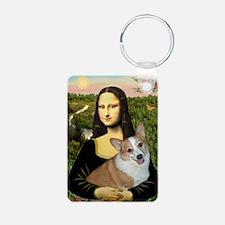 16x20-Mona-Lucy-REV2 Keychains