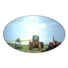 Texas Crop Duster With Tractor Decal