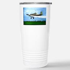 Texas Crop Duster Stainless Steel Travel Mug