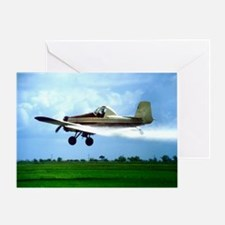 Texas Crop Duster Greeting Card