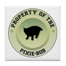 Pixie-Bob Property Tile Coaster