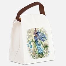 Blue Bell transparent Canvas Lunch Bag