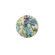 Blue Bell transparent Mini Button