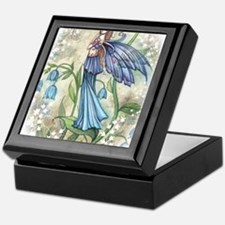Blue Bell transparent Keepsake Box
