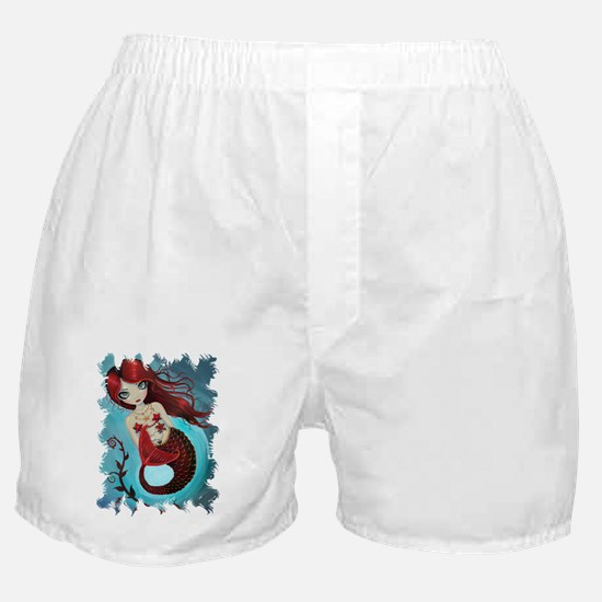 ruby transparent Boxer Shorts
