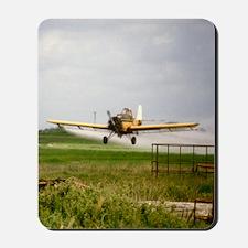Texas Crop Duster Mousepad