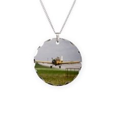 Texas Crop Duster Necklace