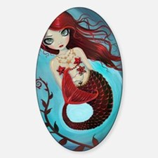 Ruby mermaid Decal