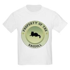 Ragdoll Property Kids T-Shirt