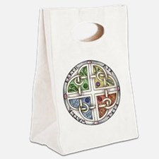 Elemental Knot copy Canvas Lunch Tote