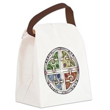 Elemental Knot copy Canvas Lunch Bag