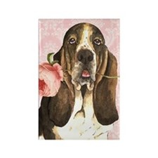 basset-slider Rectangle Magnet