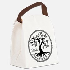 CP tree of life blk 3 Canvas Lunch Bag