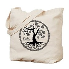 CP tree of life blk 3 Tote Bag