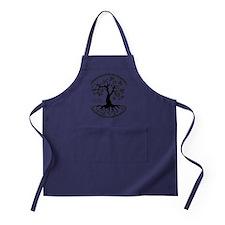 CP tree of life blk 3 Apron (dark)