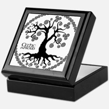 CP tree of life blk 3 Keepsake Box