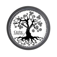 CP tree of life blk 3 Wall Clock