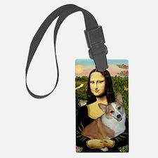 Poster-small-Mona-Corgi L Luggage Tag