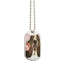 basset-3case Dog Tags