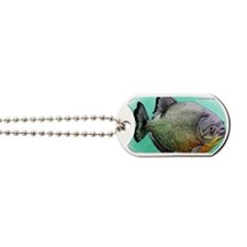 Red-Breasted Piranha Dog Tags