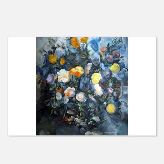 Flowers - Paul Cezanne - c1902 Postcards (Package