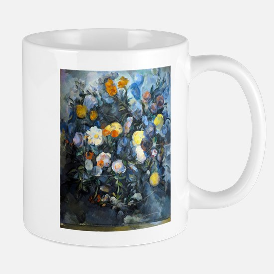 Flowers - Paul Cezanne - c1902 Mug