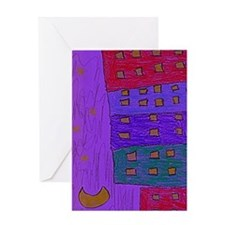 Stary_Night Greeting Card