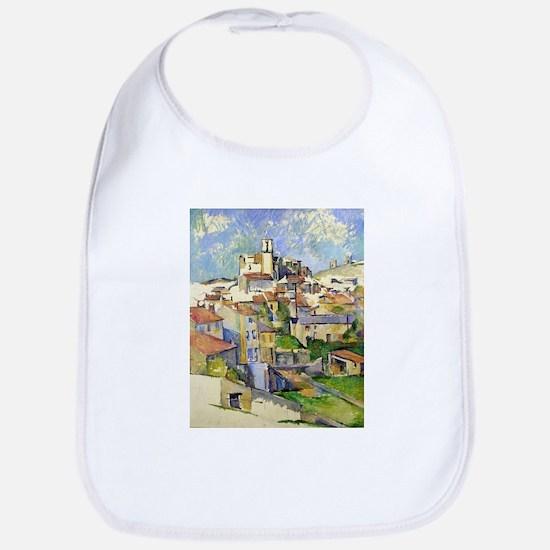 Garddanne - Paul Cezanne - c1885 Cotton Baby Bib