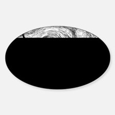 Starry Night - Black and White Mono Decal