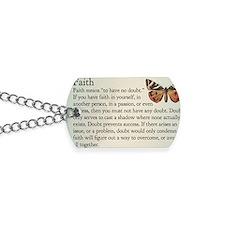 faith magnet 01 Dog Tags