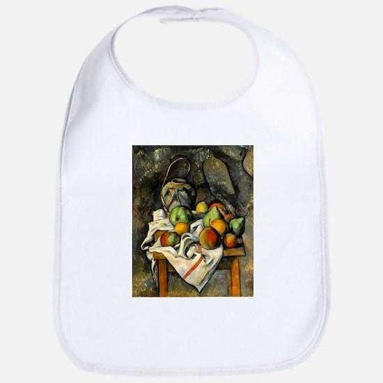 Ginger Jar and Fruit - Paul Cezanne - c1895 Cotton