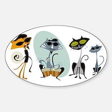 coolcatsK Sticker (Oval)