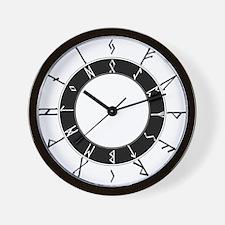 Futhark24hrClockLarge Wall Clock