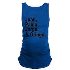 Juan pablo jorge gringo Maternity Tank Top