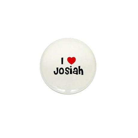I * Josiah Mini Button