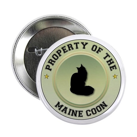 """Coon Property 2.25"""" Button (10 pack)"""