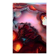 Fire-Agate-Quartz-iPad 2 Postcards (Package of 8)