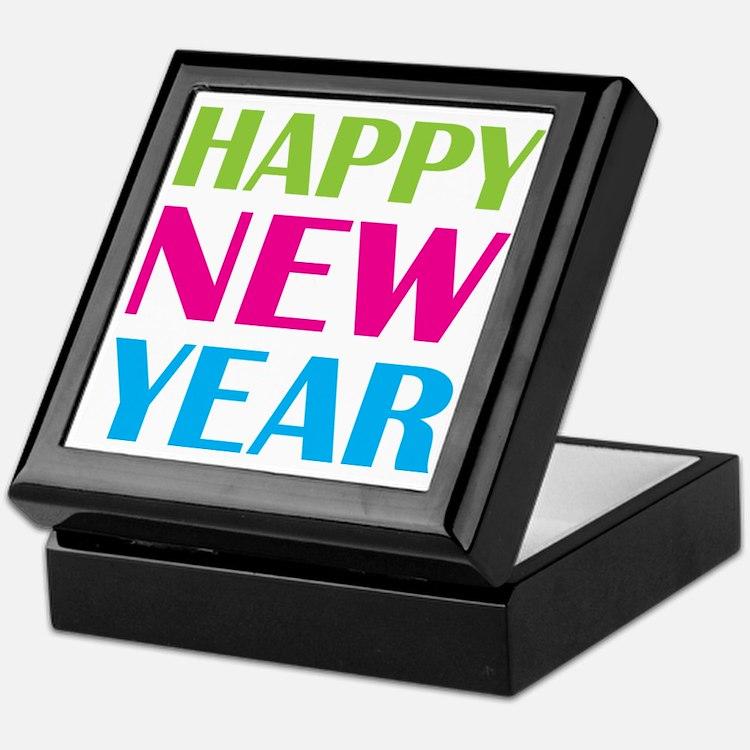 NEW YEAR Keepsake Box