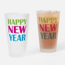 NEW YEAR Drinking Glass