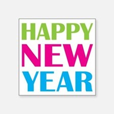 """NEW YEAR Square Sticker 3"""" x 3"""""""