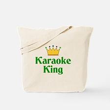 Karaoke King Tote Bag