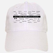 mug.theatre.languages.white-mug-cafepress Baseball Baseball Cap