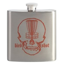 Skull Catcher Red Flask