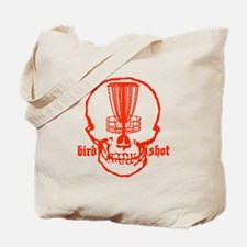 Skull Catcher Red Tote Bag
